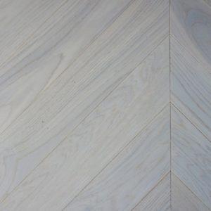 V4CV104 Seashell Oak Chevron